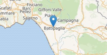Map Battipaglia