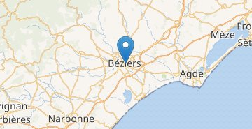 Map Beziers