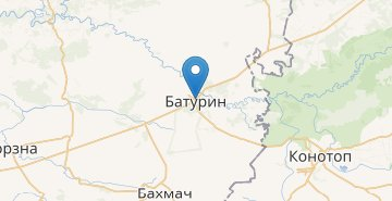 Map Baturyn