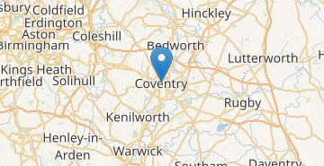 Map Coventry